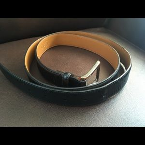 Men's Leather Coach Belt size 42